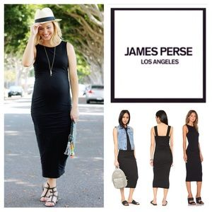 James Perse Open Back Skinny Dress.  NWT.